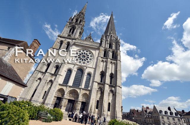 シャルトルのノートルダム大聖堂 Cathédrale Notre-Dame de Chartres
