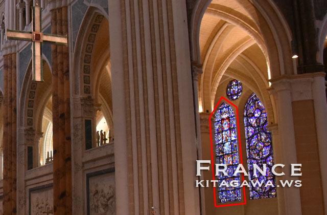 美しき絵ガラスの聖母 Notre-Dame de la Belle Verrière
