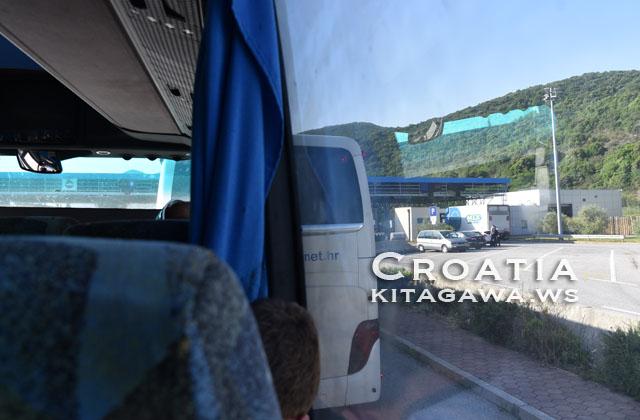 クロアチア国境