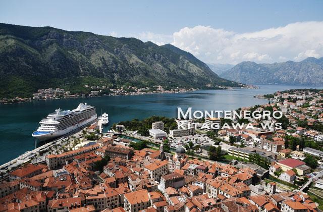 モンテネグロ旅行 コトル観光