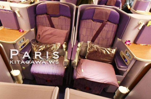 タイ航空 A380 シート
