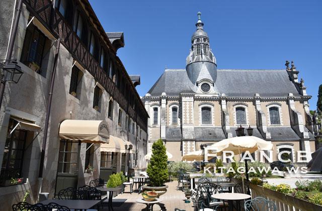 Restaurant L'Orangerie du Château à Blois