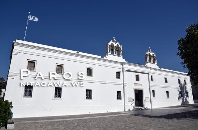 パロス島 教会