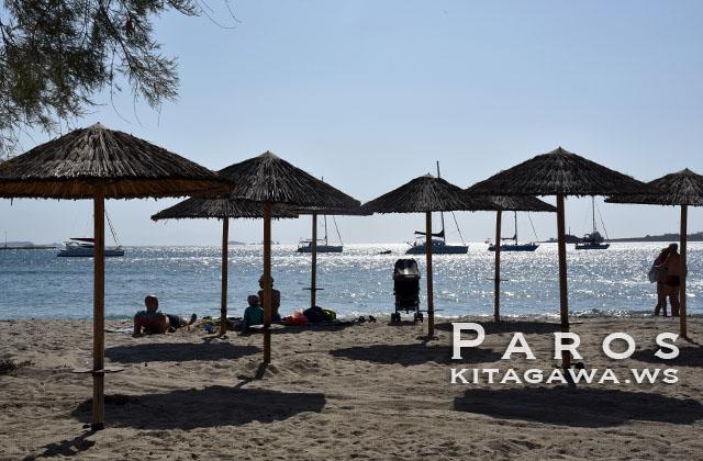 パロス島 ビーチ