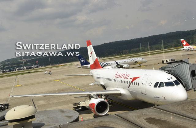 オーストリア航空 チューリヒ