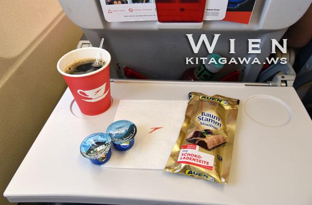 オーストリア航空 飲み物