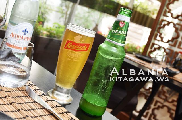 TIRANA ビール アルバニア