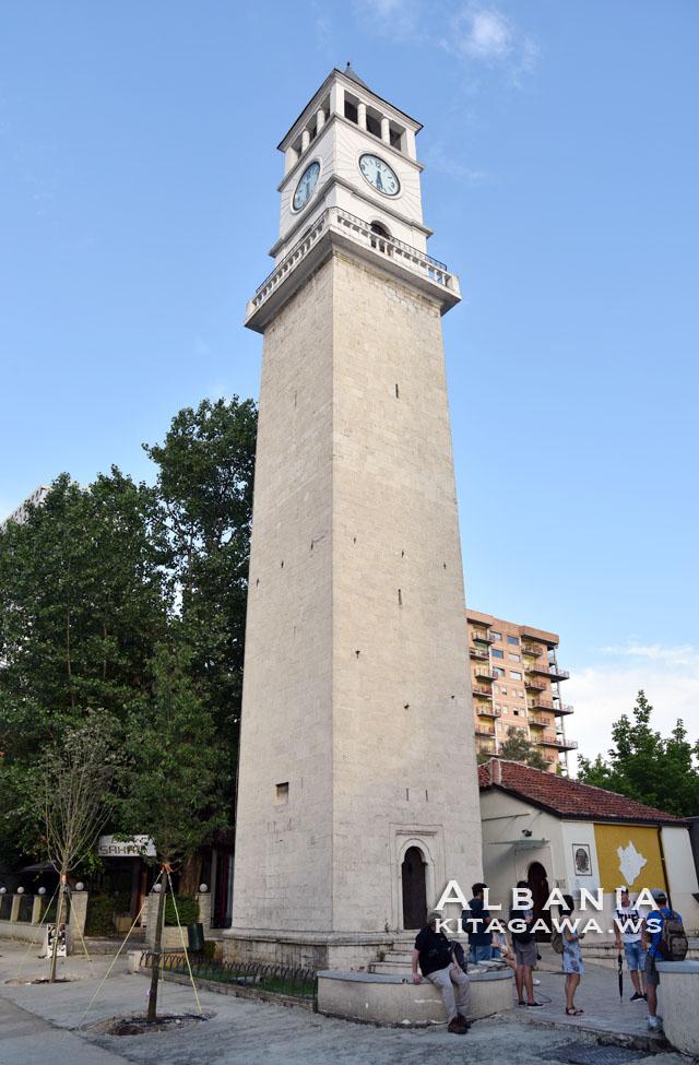 ティラナ 時計塔