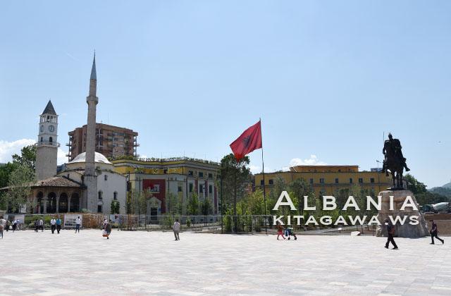 アルバニア旅行記 ティラナ観光