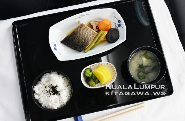 全日空ビジネスクラス機内食