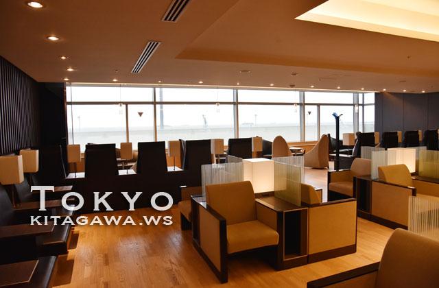 羽田空港 国内線第2ターミナル ANA LOUNGE