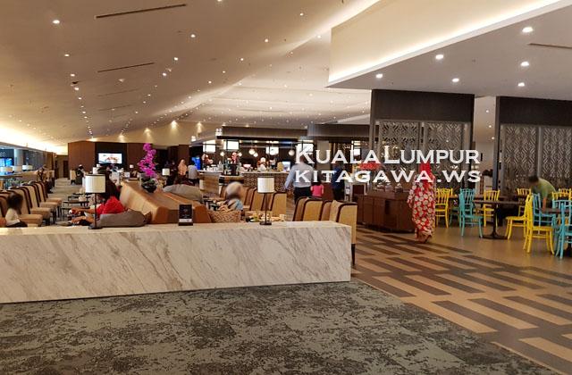 クアラルンプール空港 ANA ビジネスクラスラウンジ