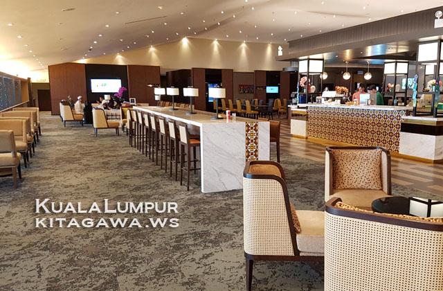 マレーシア航空クアラルンプール空港ビジネスクラスラウンジ