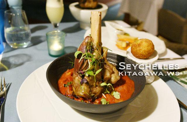 Seychellois Lamb Shank Confit