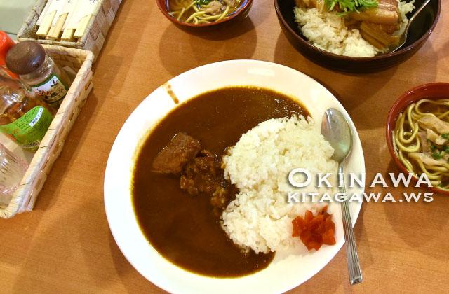 竹富島 昼食