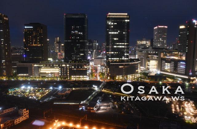 大阪駅 夜景