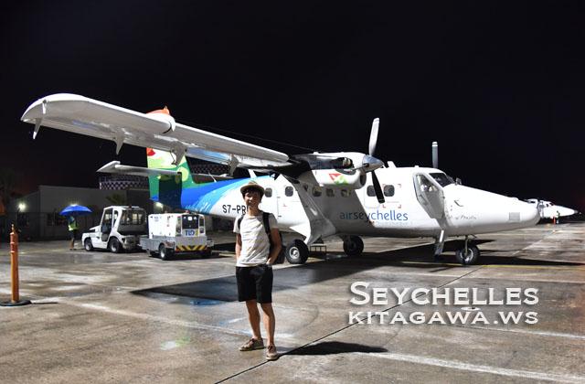 セーシェル航空 国内線DHC-6搭乗記
