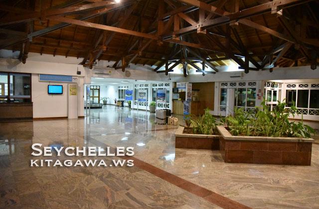 PRI プララン島空港 Praslin Airport