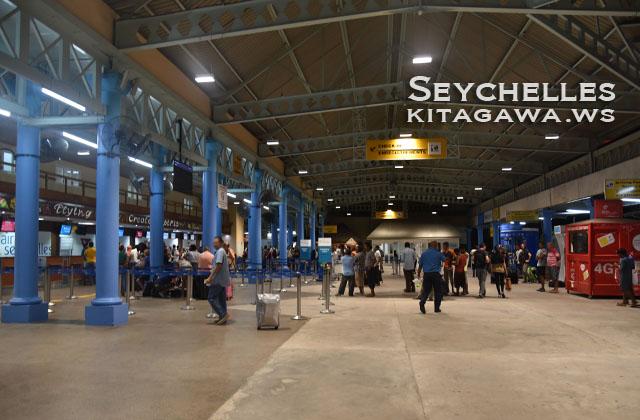 セーシェル国際空港 Seychelles International Airport