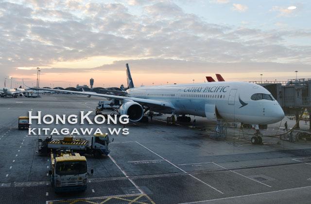キャセイパシフィック航空 搭乗記ブログ