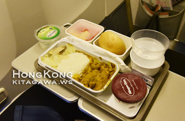 キャセイパシフィック航空 機内食