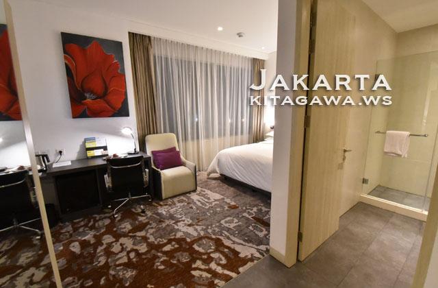 フォーポインツバイシェラトン ジャカルタ タムリン ホテル宿泊記ブログ