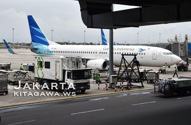 PK-GNU Garuda Indonesia B737-8U3