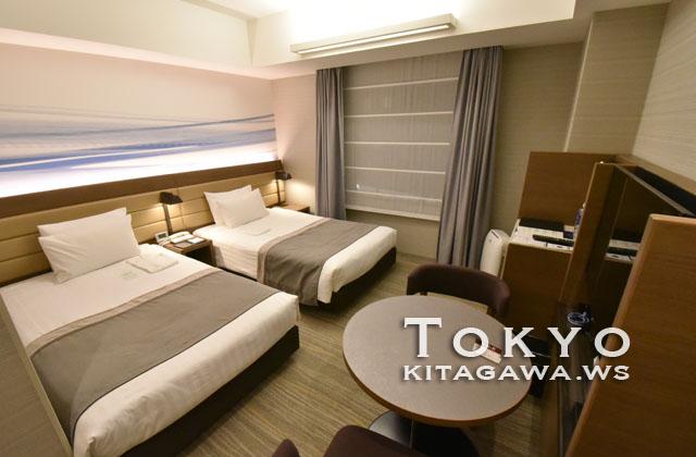 羽田エクセルホテル東急 スタンダードツイン