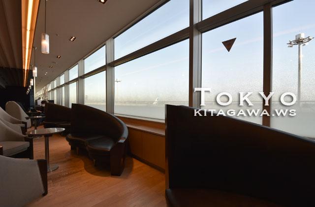 羽田空港国内線第二ターミナルANAラウンジ