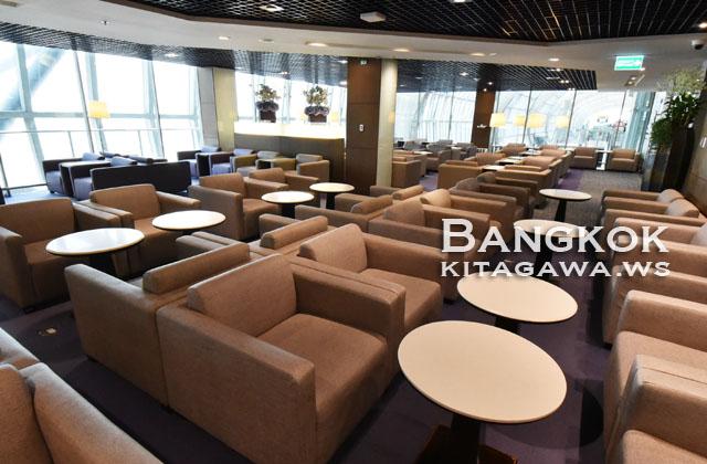 タイ航空 スワンナプーム空港 ラウンジ