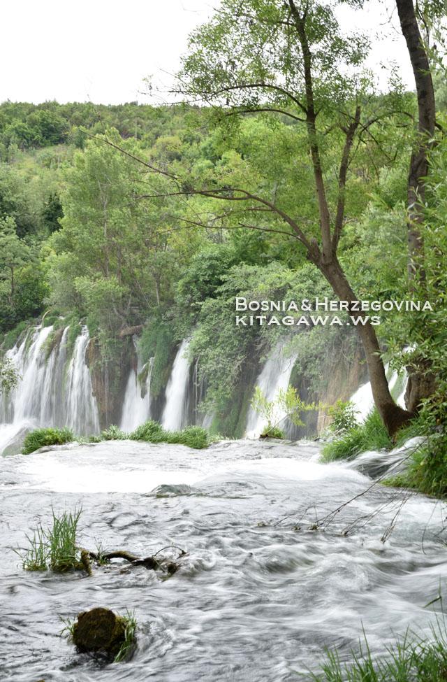 クラビカの滝 ボスニアヘルツェゴビナ