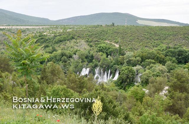 ボスニアヘルツェゴビナ旅行記 見どころ 滝