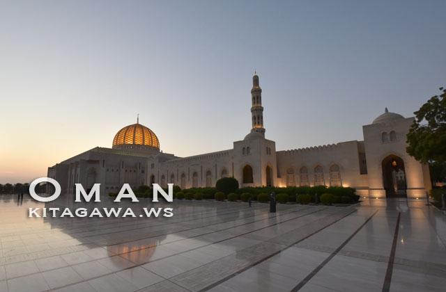 Oman Sultan Qaboos Grand Mosque Muscat