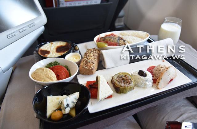 トルコ航空 ビジネスクラス機内食