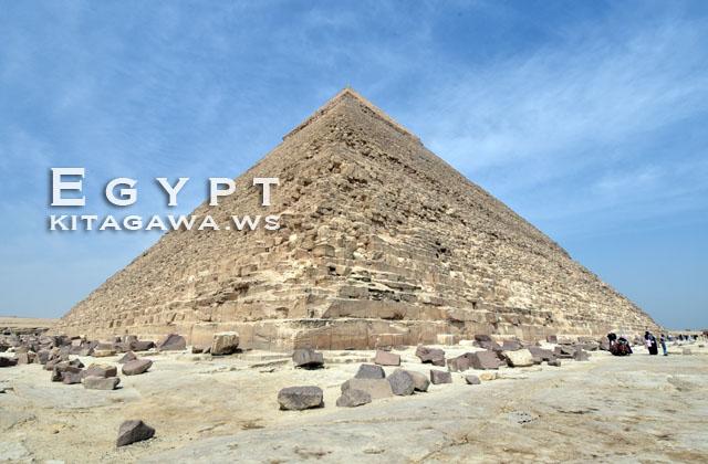 エジプト旅行 ピラミッド見学