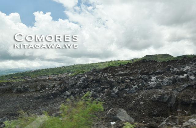 グランドコモロ島 火山