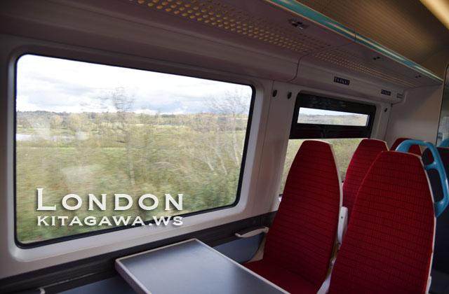 イギリス鉄道旅行