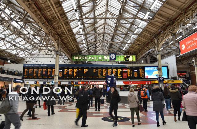 ロンドン ヴィクトリア駅
