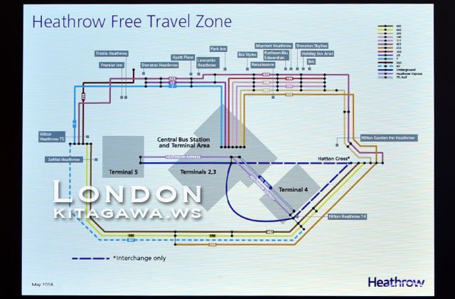 Heathrow Free Travel Zone