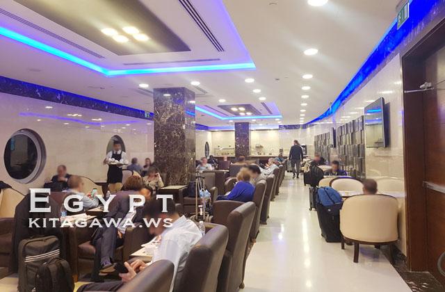 カイロ国際空港 エジプト航空 Alioth Lounge スターアライアンスラウンジ