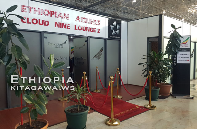 Ethiopian Airlines Cloud Nine Lounge