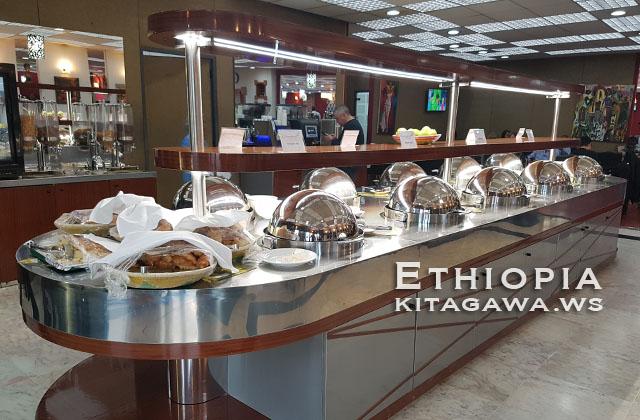 アディスアベバ空港エチオピア航空ビジネスクラスラウンジ