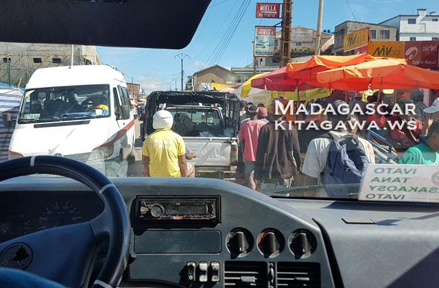 アンタナナリボ 空港から市内 マダガスカルSIMカード アリアリ両替