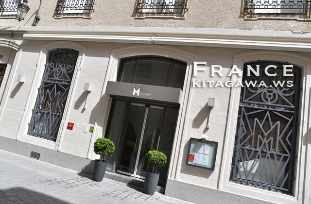 ルミレネール Le Millénaire ランスのミシュラン一つ星フランス料理店