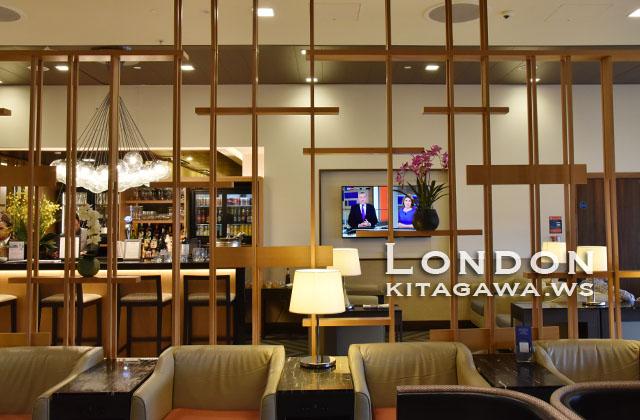シンガポール航空 シルバークリスラウンジ ロンドン ヒースロー空港