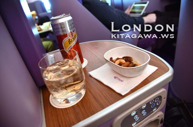 タイ航空ビジネスクラス搭乗記ブログ