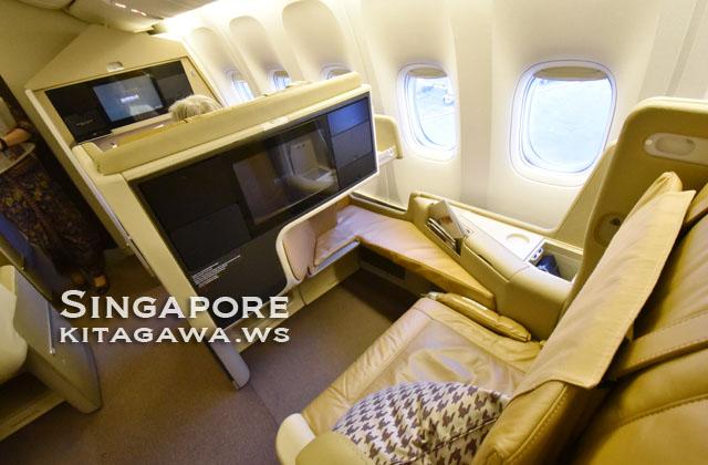 シンガポール航空B777-200ERビジネスクラス搭乗記