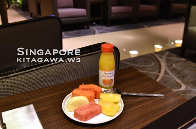 シンガポール航空チャンギT2ラウンジ