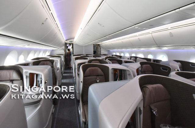 シンガポール航空B787-10ビジネスクラス搭乗記ブログ