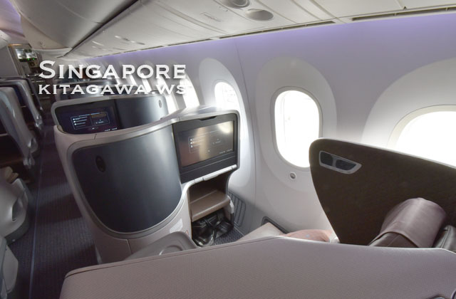 Singapore Airlines B787-10 Business Class
